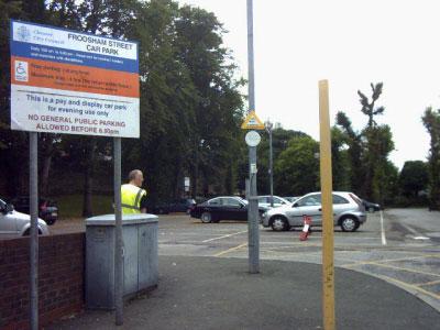 Frodsham Street Car Park Chester