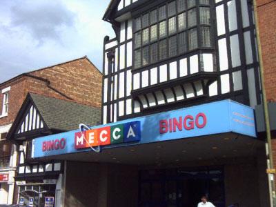 Mecca Bingo Chester Car Park