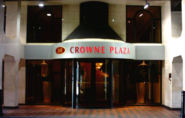 Crowne Plaza Car Park Chester