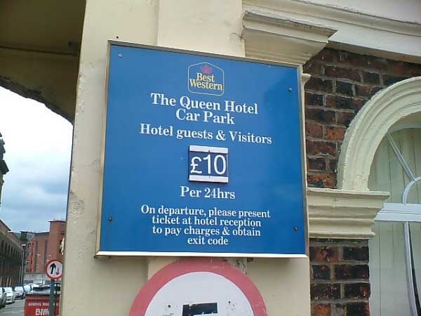 Queens Hotel Car Park Chester