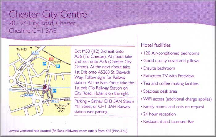 Chester Guest Houses And Hotels