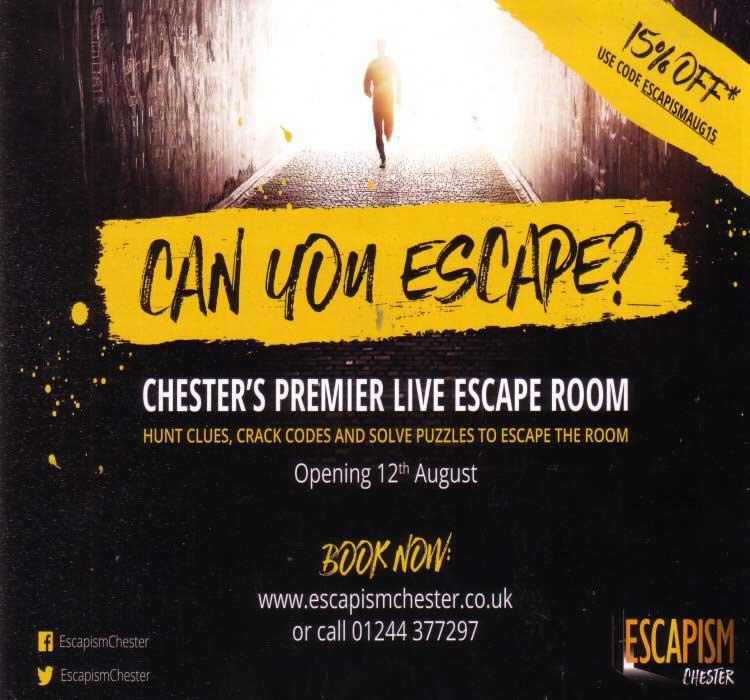 Chester Tourist Escapism Chester