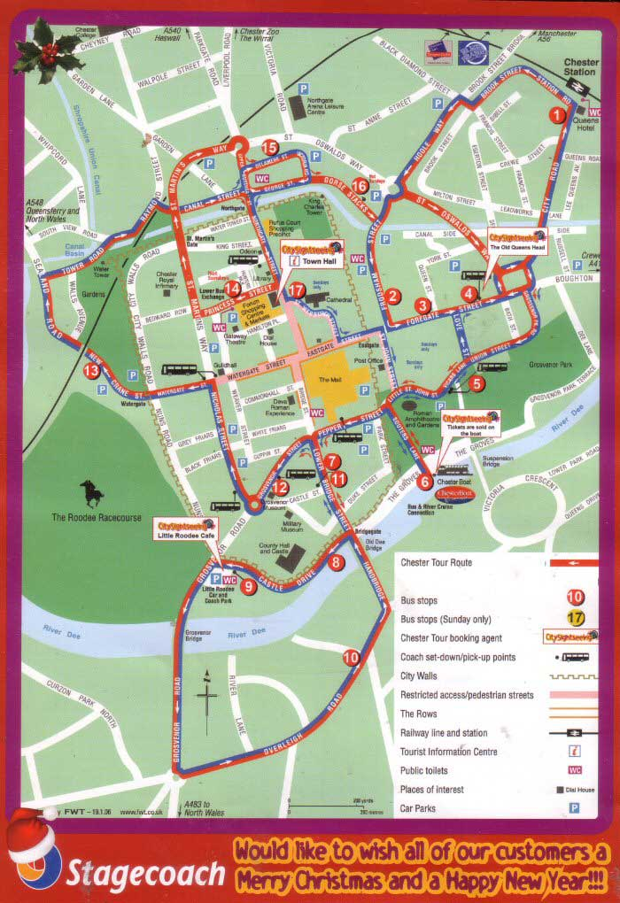 Chester Tourist City Sightseeing Tours Christmas Page 1