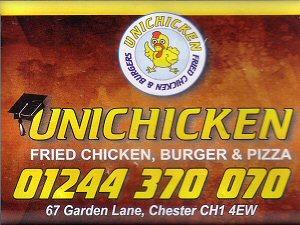 Chester Tourist Garden Lane Unichicken