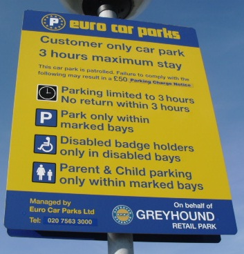 Chester Tourist Greyhound Retail Park Shopping
