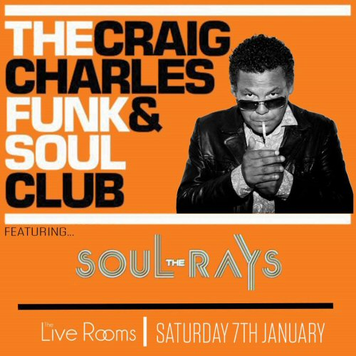 Chester tourist the live rooms Where does craig charles live