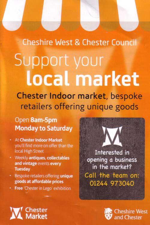 Chester Tourist - Chester Market