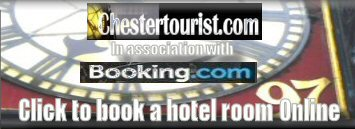 Book hotels online with Chestertourist.com and Booking.com