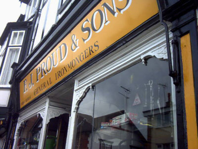 F. J. Proud & Sons Boughton Chester