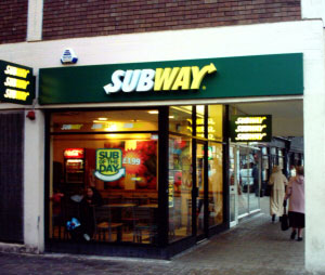 Subway Foregate Street Chester