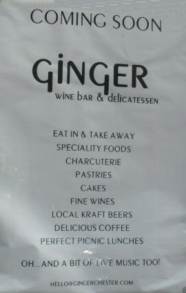 Ginger Cafe Chester