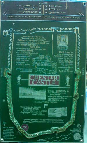 Chester Castle Sign 4