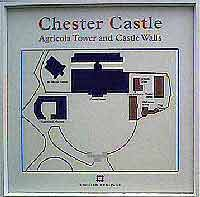 Plan of Chester Castle 24