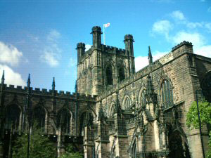 Chester Cathedral Tower