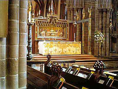 The High Altar in Chester Cathedral