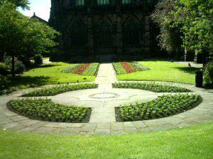Chester Cathedral Rememberance Garden