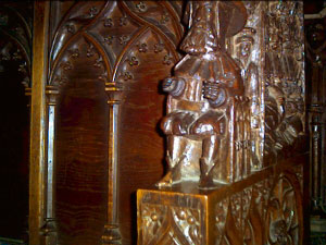 The Miserichords in Chester Cathedral - The Chester Pilgrim