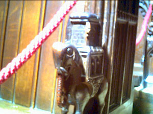 The Miserichords in Chester Cathedral  - The Elephant and Castle