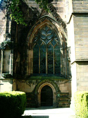 Chester Cathedral South Door