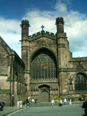 Chester Cathedral West Door