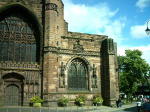 Chester Cathedral The Unfinished West Tower