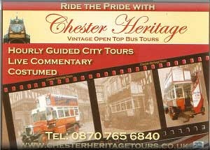 Chester Heritage Tours