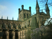 Chester Cathedral from the outside