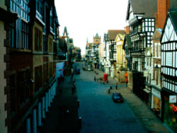 A view from the Eastgate looking west up Eastgate Street 1