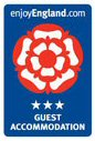 Visit Britain 3 Star Guest House Rating