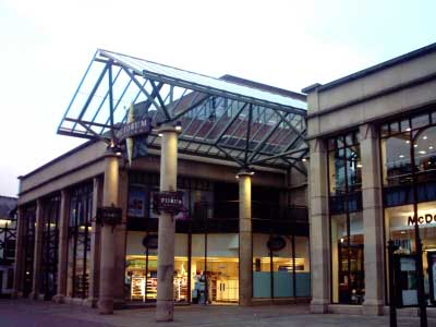 The Forum Shopping Centre - Entrance from Northgate Street