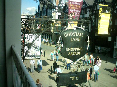 Entrance sign from Eastgate Street