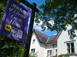 Mitchells Of Chester is a high quality Guesthouse located to the West of the City