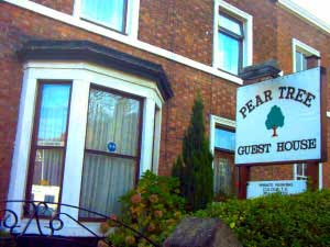 The Pear Tree Guesthouse is located to the East of the City in Hoole. It does not have a Web Site