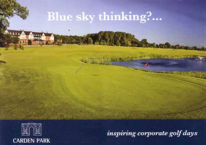 Golf at Carden Park 1. Click to Book the Hotel Online with Laterooms.com