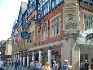Chester Grosvenor Hotel. Please click to book on Laterooms.com