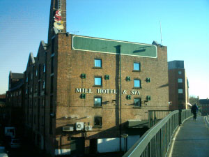 The Mill Hotel. Please click for Web Site http://www.millhotel.com
