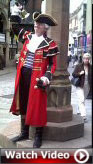 Chester's Town Crier at Chester Cross