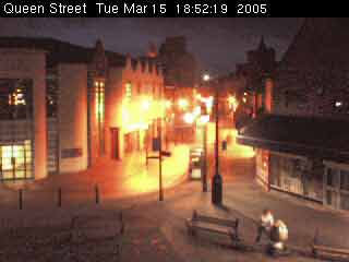 Wrexham Town Centre CAM from the BBC