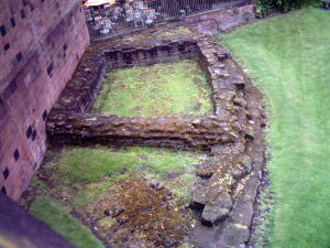 The Lost Towers of Chester's Walls - The Roman South-East Corner Tower