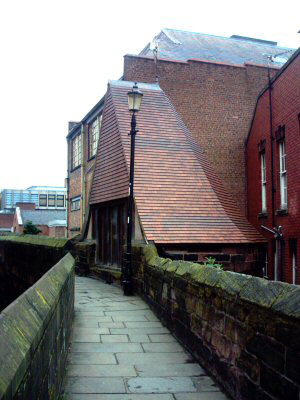 The Lost Towers of Chester's Walls - Thimbleby's Tower