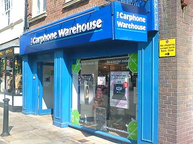 Carphone Warehouse Northgate Street