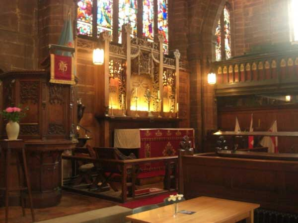 St Peter's Chester Hight Altar