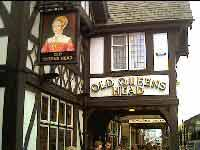 The Old Queens Head. Click here for the Pub Review