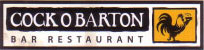 Cock O Barton Bar and Restaurant. Logo