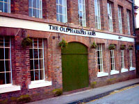 The Old Harkers Arms. Please click for Web Site www.harkersarms-chester.co.uk