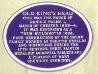 The Kings Head, Blue Plaque