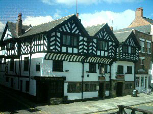 The Old Kings Head located on Lower Bridge Street. Please click for Web Site www.theyeoldekingsheadchester.co.uk