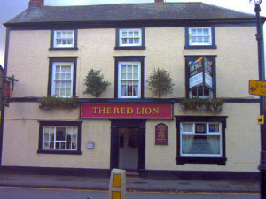 The Red Lion, Tarvin. No Web Site