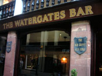 Watergates Bar on Watergate Street. Please click for Pub Review