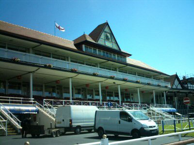 Chester Racecourse Grand Stand